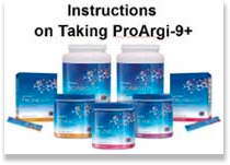 Instructions on Taking Pro-Argi9+