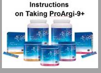 Instructions on Taking Pro-Argi9+