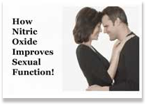 How Nitric Oxide Improves Sexual Function