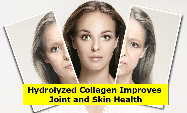 Hydrolyzed Collagen Improves Joint and Skin Health